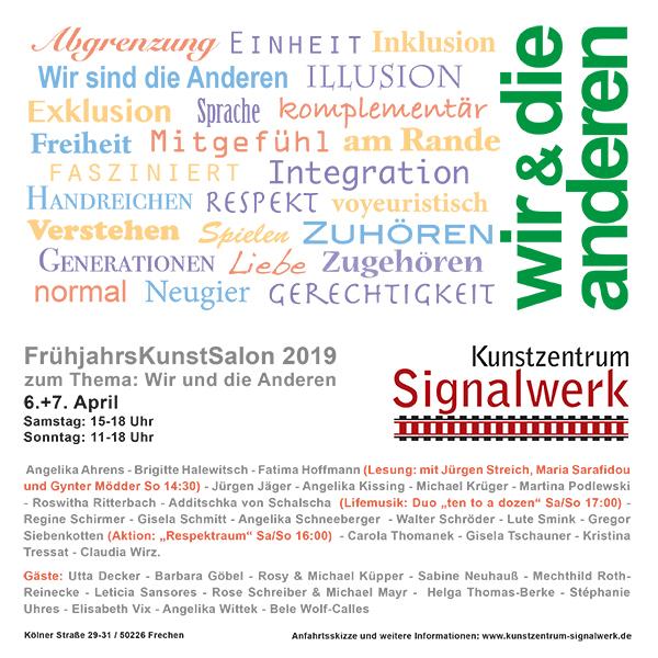 Kunstsalon 2019 Signalwerk Frechen - ten to a dozen